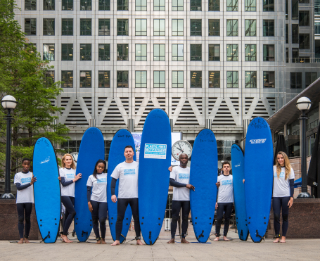 2019 Canary Wharf becomes the first commercial district in the world to achieve Plastic Free Communities status from marine conservation charity Surfers Against Sewage