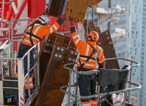 1 million hours worked on all major projects without a serious work-related injury