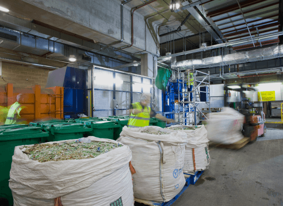 ZERO waste to landfill from managed areas