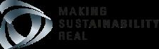 making sustainability real logo